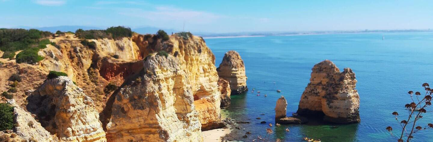 View From A Cliff Portugal